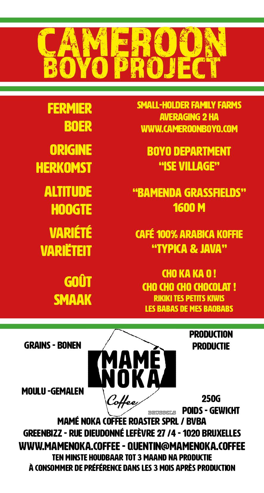 CAMEROON - BOYO ISE - 75x140 - 2017-09-27